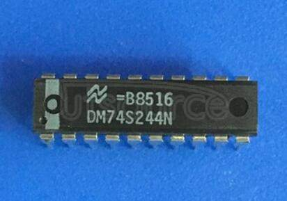 DM74LS244N Octal D-Type Flip-Flop with 3-STATE Outputs; Package: SOIC-Wide; No of Pins: 20; Container: Tape & Reel