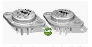 PA88 HIGH VOLTAGE POWER OPERATIONAL AMPLIFIERS