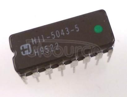 HI3-5043-5 CMOS Analog Switches