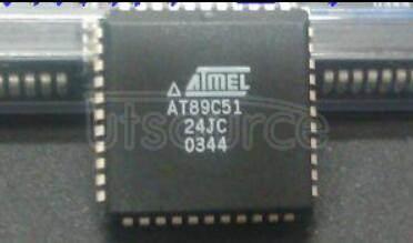 AT89C5124JC 8-bit Microcontroller with 20K Bytes Flash