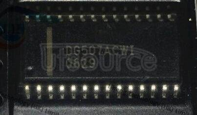 DG507ACWI Monolithic CMOS Analog Multiplexers