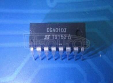 DG401DJ Monolithic CMOS Analog Switches