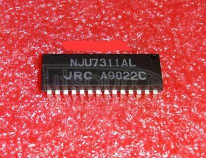 NJU7311A Hexed 2-Channel and Dual 1-Channel Analog Switch21
