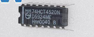 74HCT4520N Synchronous  Up  Counter