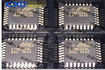 ATMEGA8L-AU 8-BIT AVR WITH BYTE IN-SYSTEM PROGRAMMABLE FLASH INTEGRATED CIRCUIT MEMORY IC