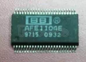 AFE1104E HDSL/MDSL ANALOG FRONT END