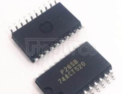 74ACT520SC 12-Bit GTL-/GTL/GTL+ To LVTTL Translator 28-TSSOP -40 to 85