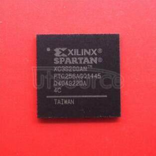 XC3S200AN-4FTG256C SPARTAN-3AN  FPGA 200K  256FTBG
