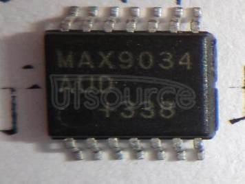 MAX9034AUD+