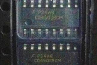 CD4503BCM Hex Non-Inverting 3-STATE Buffer