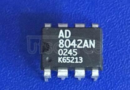 AD8042AN Dual 160 MHz Rail-to-Rail Amplifier