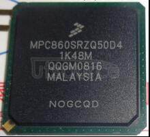 MPC860SRZQ50D4 POWER QUICC