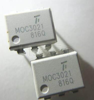 MOC3021-M 6-Pin DIP 400V Random Phase Triac Driver Output Optocoupler