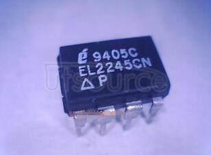 EL2245CN Dual/Quad Low-Power 100MHz Gain-of-2 Stable Op Amp