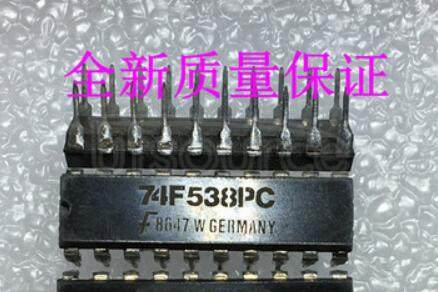 74F538PC 1-of-8 Decoder with 3-STATE Outputs