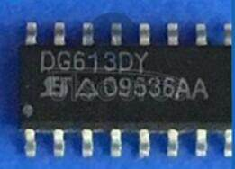 DG613DY High-Speed / Low-Glitch D/CMOS Analog Switches