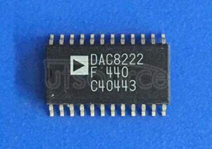 DAC8222F Dual 12-Bit Double-Buffered Multiplying CMOS D/A Converter