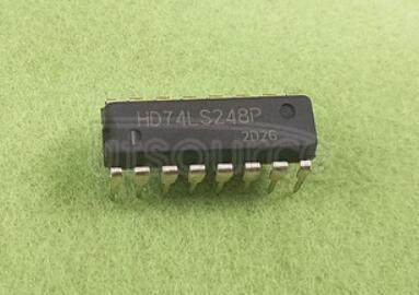 74LS248 BCD-to-Seven-Segment Decoders/Drivers(internal pull-up outputs)