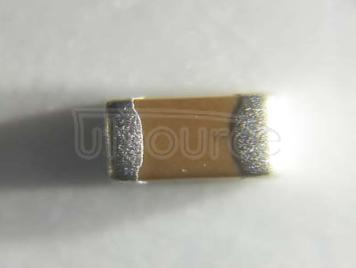 YAGEO chip Capacitance 0805 75PF NPO 10V 5%
