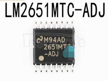 LM2651MTC-ADJ