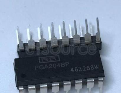 PGA204BP Programmable Gain Instrumentation Amplifier 16-PDIP