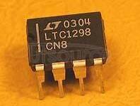LTC1298 11.1 ksps,Micropower Sampling 12-Bit A/D Converters In S0-8 Packages11.1 ksps,12,SO-8