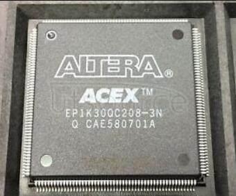 EP1K30QC208-3N ACEX 1K FPGA 30K  208-PQFP