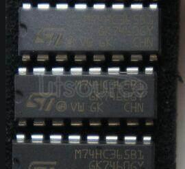 M74HC365B1 HEX BUS BUFFER 3-STATE HC365 NON INVERTING- HC366 INVERTING