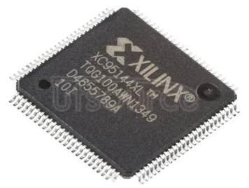 XC95144XL-10TQG100I