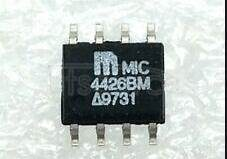 MIC4426BM MOSFET Driver IC<br/> MOSFET Driver Type:Dual Drivers, Low Side Inverting<br/> Peak Output High Current, Ioh:1.5A<br/> Rise Time:18ns<br/> Fall Time:15ns<br/> Load Capacitance:1000pF<br/> Package/Case:8-SOIC<br/> Number of Drivers:2<br/> Supply Voltage Max:18V