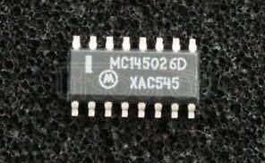 MC145026D Encoder and Decoder Pairs