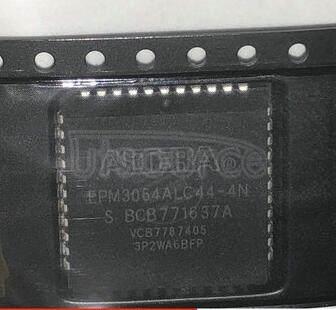 EPM3064ALC44-4N MAX  3000A  CPLD 64  44-PLCC