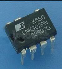 LNK302P Lowest Component Count, Energy Efficient Off-Line Switcher IC