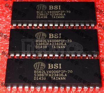 BS62LV4006PIP70 Very   Low   Power/Voltage   CMOS   SRAM   512K  X 8  bit
