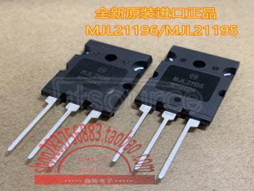 MJL21196/MJL21195
