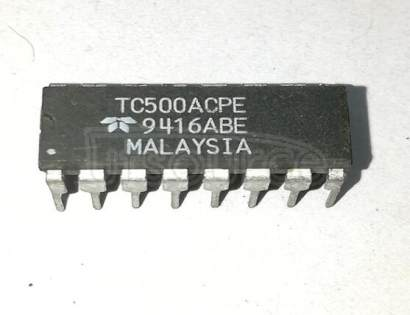 TC500CPE Precision Analog Front Ends
