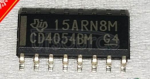 CD4054BM96 CMOS   Lquid-Crystal   Display   Drivers