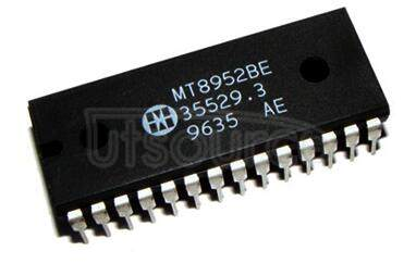 MT8952BE ISO-CMOS ST-BUS⑩ FAMILY HDLC Protocol Controller