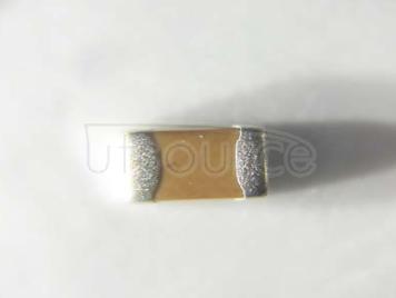 YAGEO chip Capacitance 0805 7.5nF X7R 25V 10%