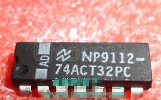 74ACT32PC Quad 2-Input OR Gate<br/> Package: DIP<br/> No of Pins: 14<br/> Container: Rail