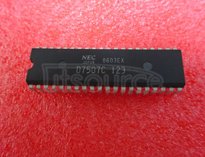 UPD7507C 4 BIT SINGLE CHIP CMOS MICROCOMPUTERS