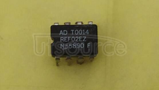REF02EZ +5V, +10V Precision Voltage References