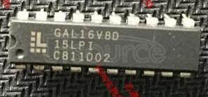 GAL16V8D-15LPI IC,MICROCONTROLLER,8-BIT,68HC08 CPU,CMOS,DIP,8PIN,PLASTIC RoHS Compliant: No