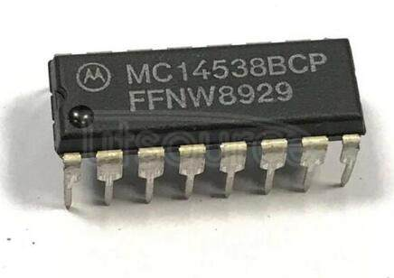 MC14538BCPG Dual Precision Retriggerable/Resettable Monostable Multivibrator