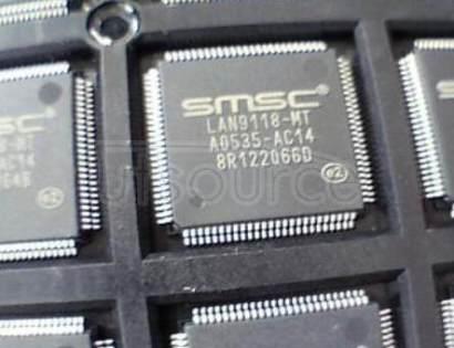 LAN9118-MT IC ETHERNET CTRLR 10/100 100TQFP