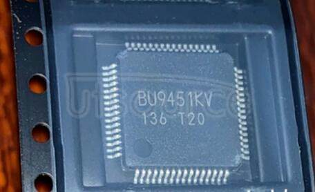 BU9451KV-E2 IC DECODER USB HOST AUDIO 64LQFP