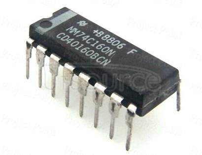 MM74C160N 4-Line to 16-Line Decoder/Demultiplexer