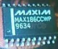 MAX186CCWP