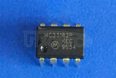 MC33182P Low Power, High Slew Rate, Wide Bandwidth, JFET Input Operational Amplifiers