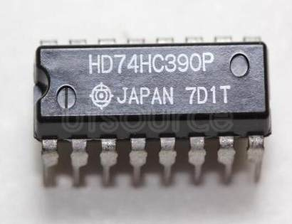 HD74HC390P Logic IC; Function: Dual Decade Counters; Package: DIP